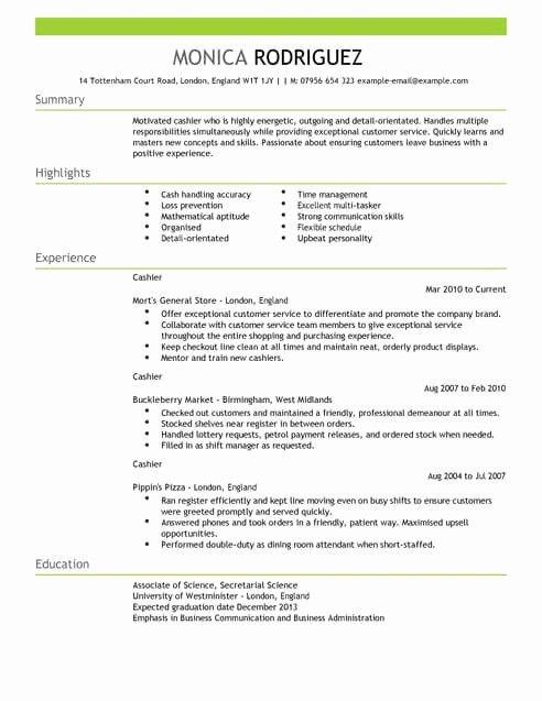 Inspirational Sales Cv Templates Resume Words Sales Resume Examples Sample Resume