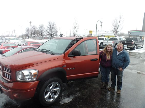 Congratulations to Danielle and Mitchell on their purchase of a new 2008 Dodge Ram 1500! We appreciate the opportunity to earn your business, and hope you enjoy your new truck!