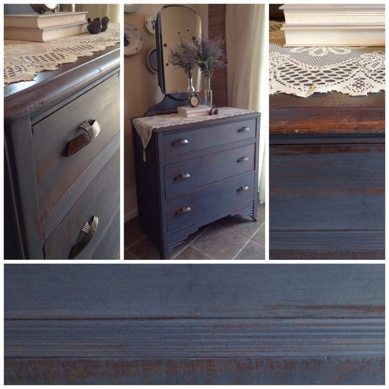 Love that colour! Shabby chic dresser for sale @ Lee.Marie Antiqued Furniture on Facebook