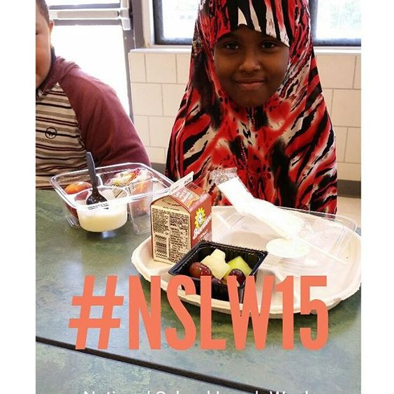 Celebrating National School Lunch Week! Providing nutrition that fuels successful learning...at no cost to students #nslw15 #dallasisdlunch #schoolfood #realschoolfood #nslw