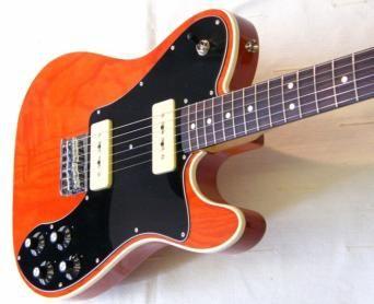 Fender FSR Telecaster Custom P90 Sunset Orange