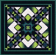 Sunburst Quilt pattern by Jinny Beyer for RJR Fabrics.  Fascinated with the color play!