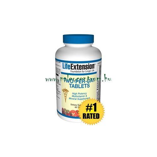 Life Extension Two-Per-Day (60) tabletta - Vitaminok, étrend-kiegészítők - paleocentrum.hu