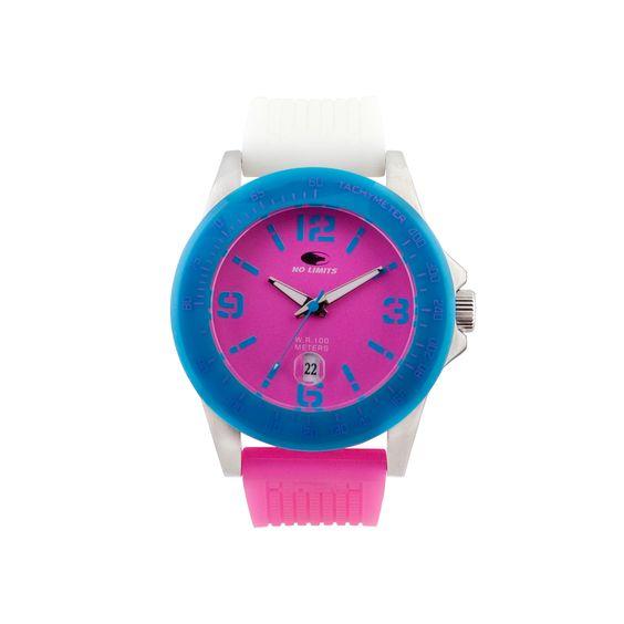 Reloj No Limits, Línea KAHUNA, Analógico, Unisex  - Reloj deportivo multicolor para jovenes  - La lí