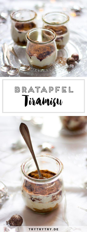 Weihnachtliches Dessert: Rezepte für Bratapfel Tiramisu