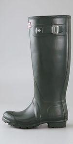 Hunter- rain boots