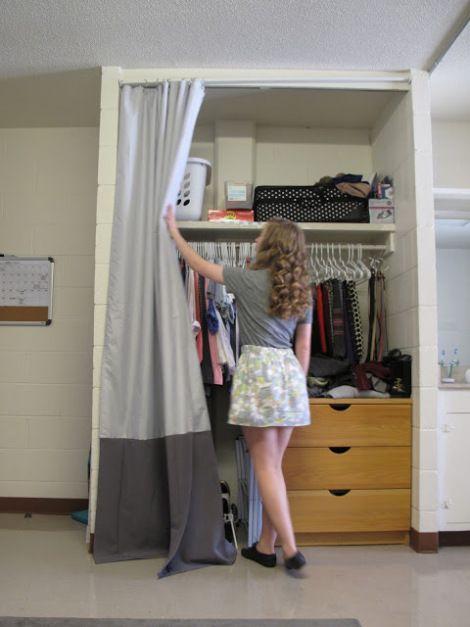 Dorm Closet Dorm And Decor On Pinterest