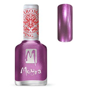 COMING SOON Moyra Stamping Nail Polish- No. 28 (Chrome Purple)