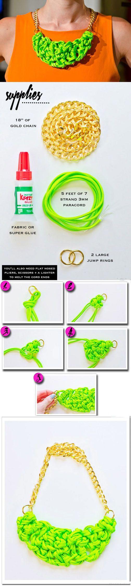 Cool Necklace | DIY & Crafts Tutorials