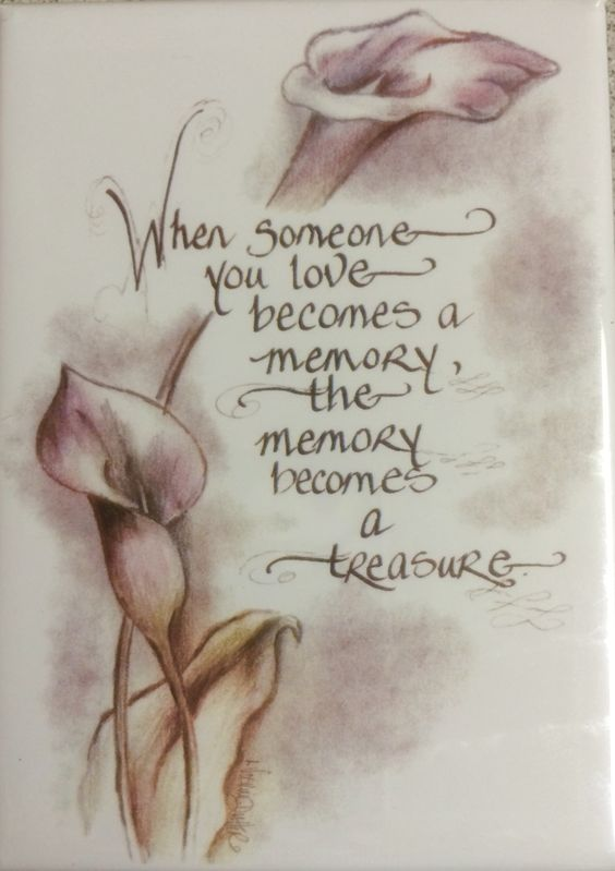 Treasure your memories of your loved ones that have gone before you!! ❤️ #memories #treasures #lovedones