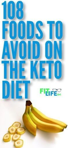108 foods to avoid on the keto diet