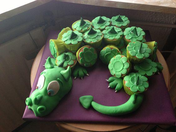 Dragon Cupcakes Cakes Pinterest Dragon Cupcakes