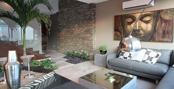 Casa con jardin artificial interior una gran idea para - Ideas para jardines de casas ...