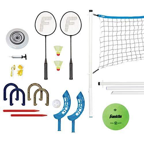 Franklin Sports Combo Set Badminton Volleyball Flip To Https Www Amazon Com Dp B00fpqqdmi Ref Cm Sw R Pi Dp U X Z Franklin Sports Badminton Flying Disc