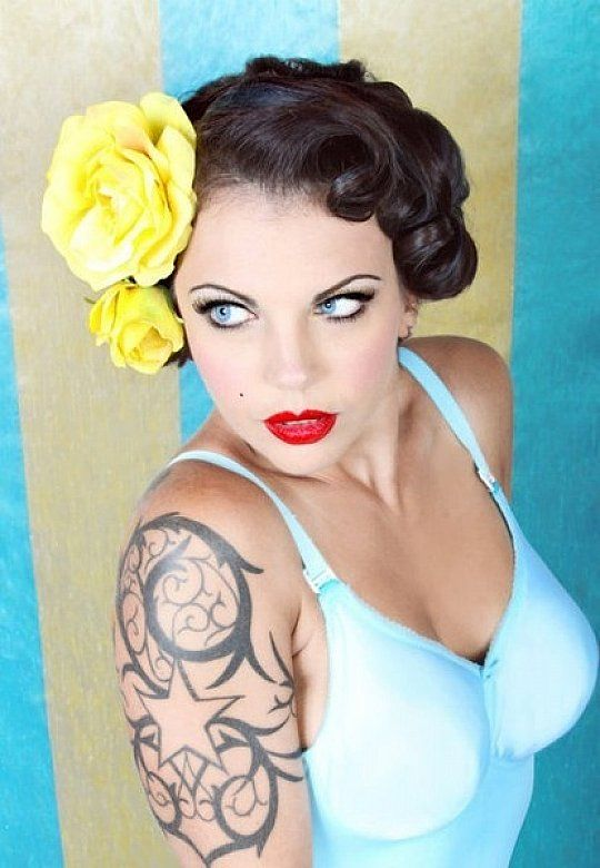 Cute Pin Up Styles For Short Hair - Best Short Hair Styles