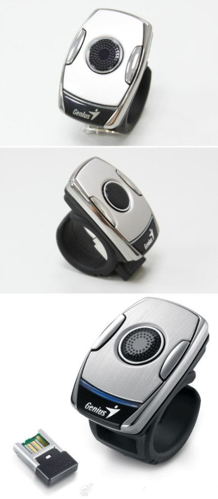 Genius Ring Mouse Iphone Gadgets Gadgets And Gizmos Geek Gadgets