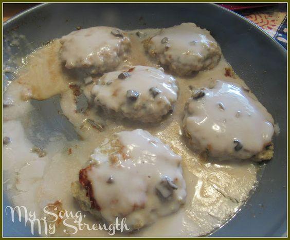 My Song, My Strength: Chicken Salisbury Steaks | Recipe