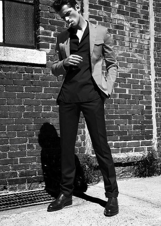 CoverMen Blog : Sean O'Pry for Harper's Bazaar Men Thailand SS 2014