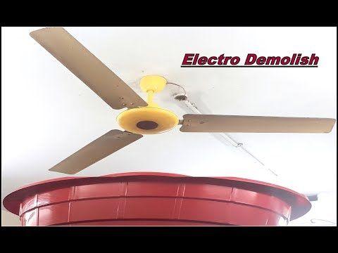 """ceiling fan falling down part 7 domestic ceiling fan """"usha"""