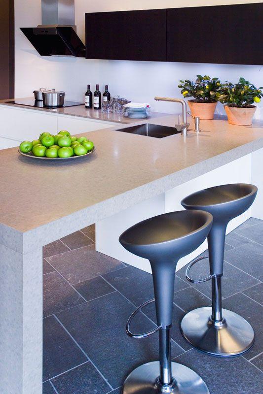 Bar Keuken Hoogte : Keuken – composiet – diresco housepiration Pinterest Van and Bar