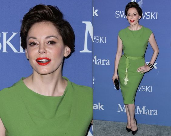 Rose McGowan's ditched her platinum hair of the last 6 months and returned to her brunette hue. What do you think of this makeover?