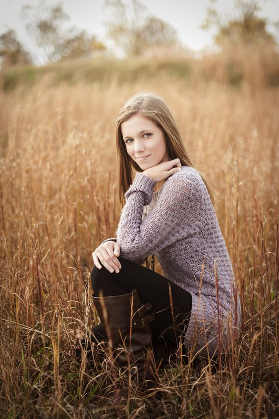 Senior Pictures Noelle Bell Photography Wheat Field