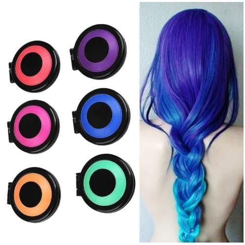 Temporary Hair Dye Chalk 2020 ヘアスタイル