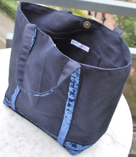 le tutoriel pour un sac pour les vacances couture pinterest toile vanessa bruno and couture. Black Bedroom Furniture Sets. Home Design Ideas
