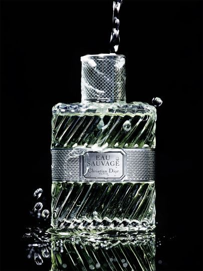 Still life photographer Candice Milon - Dior Eau Sauvage #water #perfume