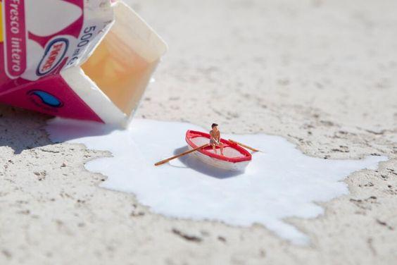 ¡Inspiración artística con leche! Mmmm ¡qué bien! #MagoQuitamanchas no.4  http://bit.ly/1T4XWEr