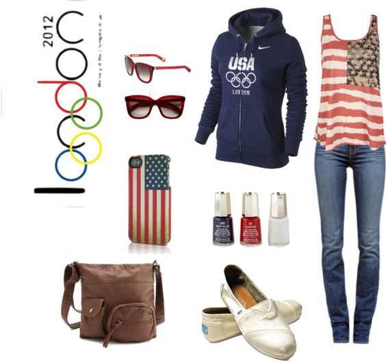 """Olympics USA!"" by megan-renay-hale on Polyvore"