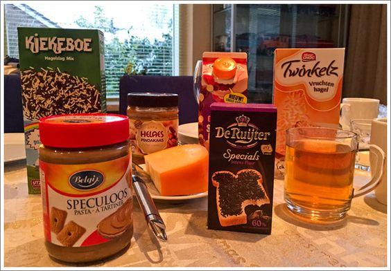 Ein typisches niederländisches Frühstück – Dutch breakfast – Nederlands ontbijt