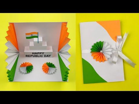 Best Republic Day Card Making Handmade Greeting Cards Ideas For Republic Day Independence Day Independence Day Card Greeting Cards Handmade Handmade Greetings