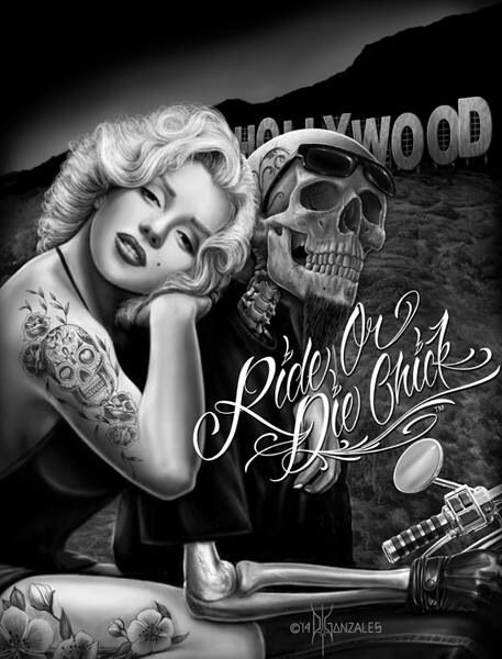 Ride or die chick chicano art pinterest ride or die for Ride or die tattoo designs