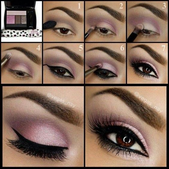 Get this look using Mary Kay Eye Shadows Ballerina Pink along with Sweet Cream Visit my website https://www.marykay.com/imedrano4 they are beautiful and cool