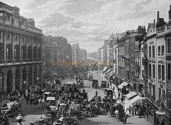 The Strand (1896),London. Place of birth on my Grandfather's Birth Certificate from the poorhouse. Also notorious for prostitution London.