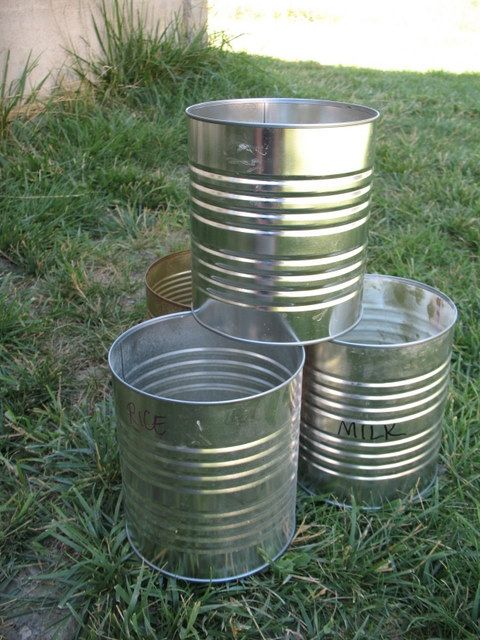 Empty Tin Can Stock Photography: 101 Uses For Empty Food Storage Cans « Food Storage And