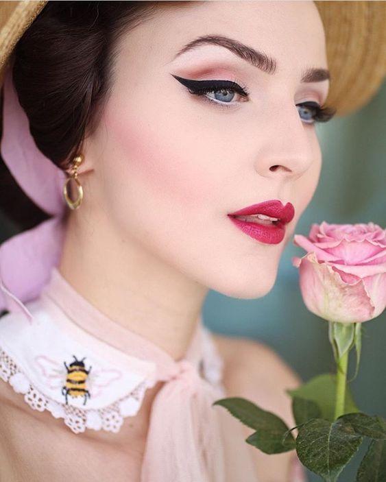 Classy Make Up Look Vintage Makeup Looks Wedding Makeup Vintage Gorgeous Makeup