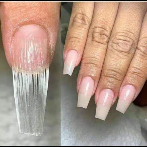 Fiberglass Nail Extension Underdoom Com Underdoom Com Fiberglass Nails Acrylic Nail Tips Nail Extensions Acrylic