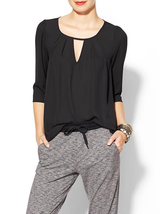 love this black blouse