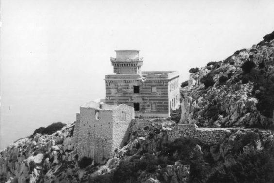 il vecchio faro di Tavolara,Olbia,Sardinia