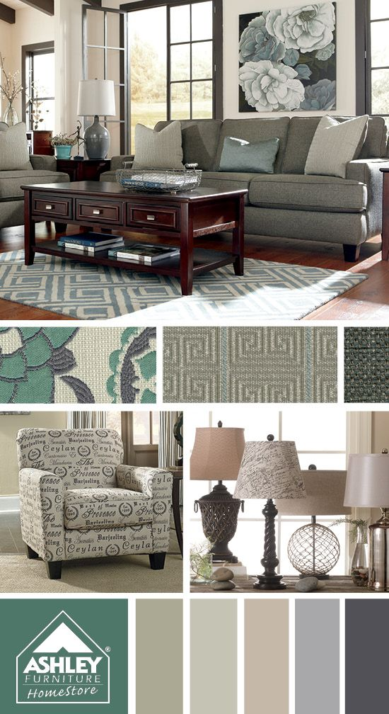 Elegant Shoshana Sofa   Ashley Furniture HomeStore | On Trend Décor | Pinterest |  Living Rooms, Room And Gray