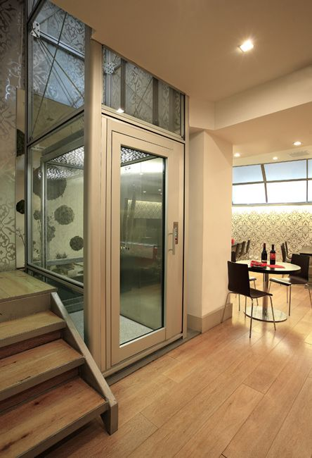 Artisan home elevator the great spaces pinterest for Modern home elevators