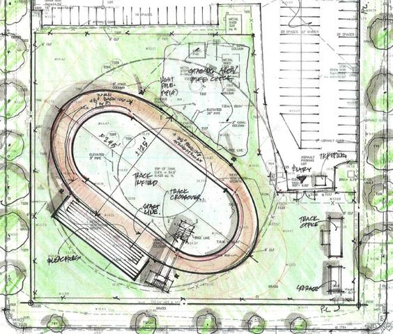 how to build a velodrome