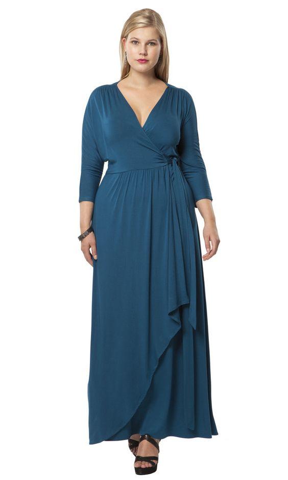 Wrapped in Romance Dress | Kiyonna | Women's Dresses | Hey Gorgeous!
