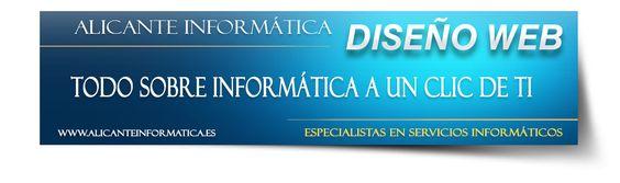 Alicante Informática: Diseño Web