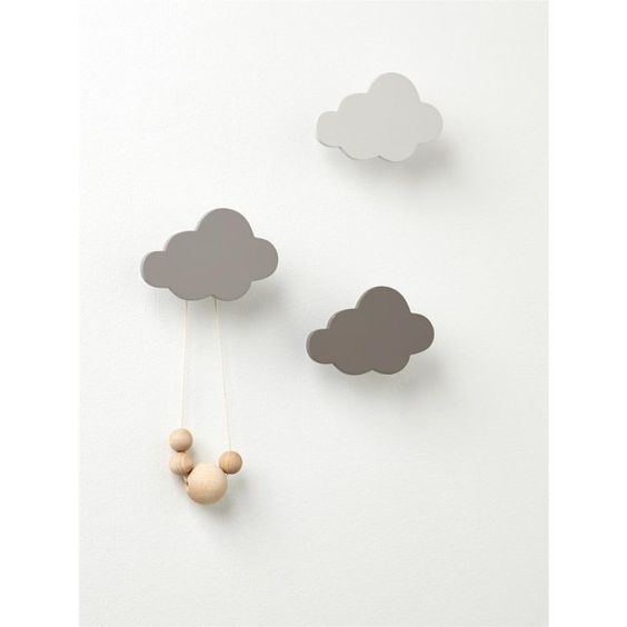patre nuage par lot de 3 cyrillus prix avis notation livraison - Patere Colore