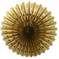 Wabendeko in Gold, 45cm, 1,89