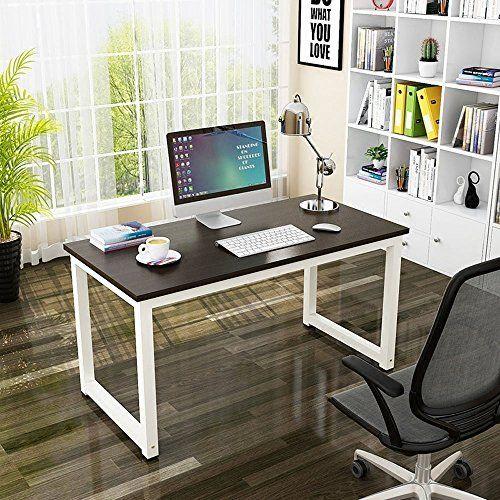 Computer Desk Pc, Porch Den Hardy Black Metal Glass Corner Computer Desk