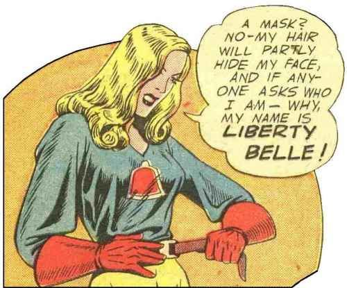 Liberty Belle, DC Comics, 1942.